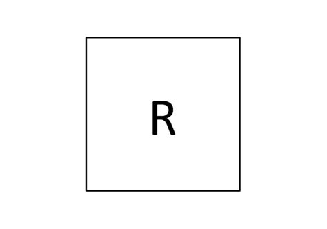 Electrical Symbol Triplex Outlet