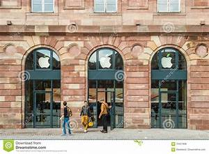 Apple Store Green Leaf Earth Day Editorial Stock Photo ...