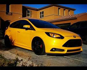 Focus St Mk3 : yellow ford focus st mk3 tuning lamps and rims ford ~ Kayakingforconservation.com Haus und Dekorationen