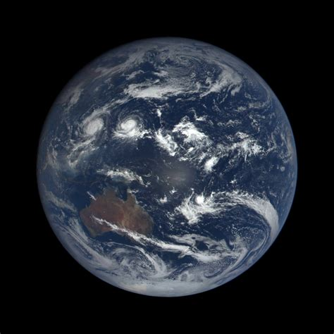 See EPIC Views of Rotating Earth Daily from NASA's New ...