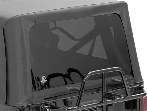 jeep wrangler replacement soft top rear window