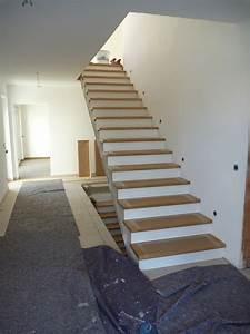 Treppenstufen Weiß Lackieren : unsere treppe bautagebuch ~ Markanthonyermac.com Haus und Dekorationen