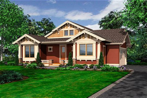 tidy  story bungalow jd architectural designs house plans