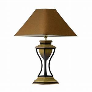 Contemporary Modern Chestnut Table Lamp Lamps With Brown ...