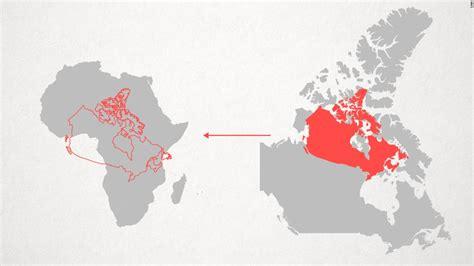 western maps shrink africa cnn