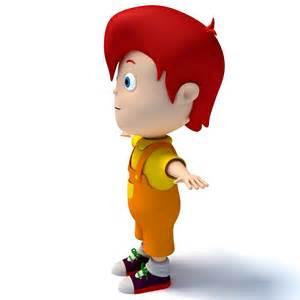 3D Cartoon Characters