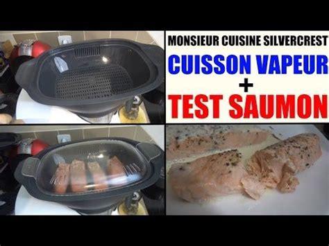 cuisine lidl recette saumon vapeur monsieur cuisine silvercrest lidl et