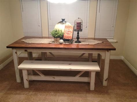 White Farmhouse Kitchen Table Gray Kitchen Cabinets With
