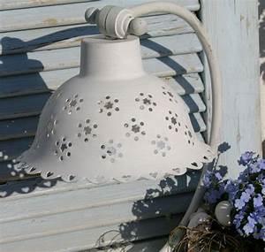 Tischlampe Vintage Shabby : tischlampe metall vintage shabby chic lampe nostalgie ~ Watch28wear.com Haus und Dekorationen