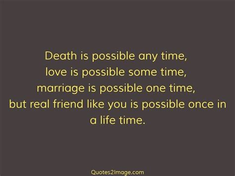 death    time friendship quotes  image