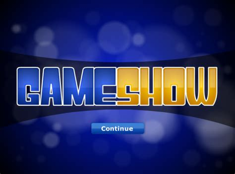 game show powerpoint template  rebocinfo
