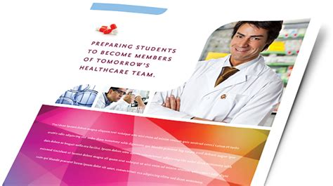 medical health care brochures flyers word