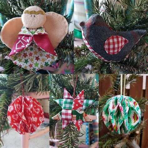 sewing christmas decorations workshop cromarty arts trust