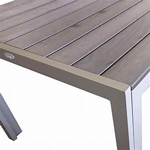 Gartentisch Non Wood : aluminium gartentisch esszimmertisch esstisch k chentisch mit polywood non wood tischplatte ~ Eleganceandgraceweddings.com Haus und Dekorationen