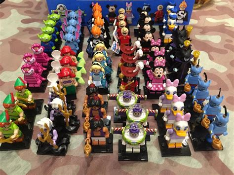 lego disney mini figures series  box distribution