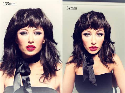 lens focal length shapes  face fstoppers
