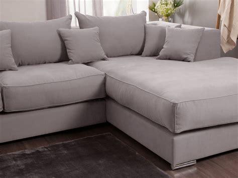 canapé grande profondeur canapé d 39 angle en coton et avec grande méridienne