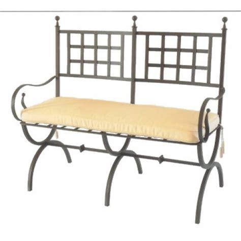 divanetto cucina divanetto ferro forgiato giardino e cucina modello diana