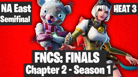 fortnite fncs final na east heat  highlights youtube