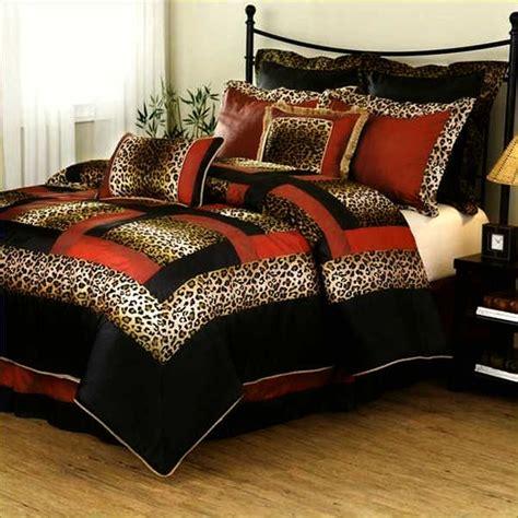 king size leopard comforter set home design remodeling