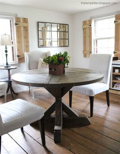 Diy Round Kitchen Table Plans  Woodworking Projects & Plans