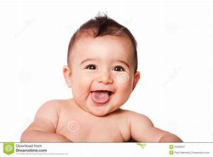 Happy Laughing Baby Face Stock Image - Image: 25683041