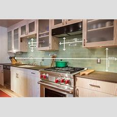 How To Measure Your Kitchen Backsplash  Mercury Mosaics