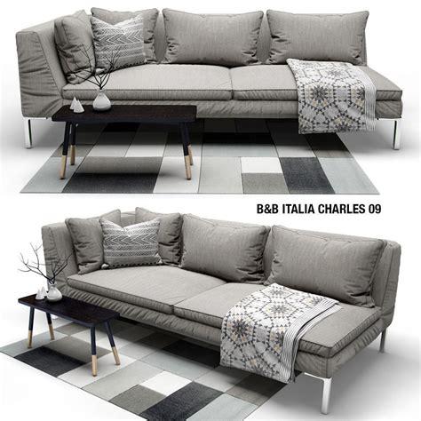 b and b italia charles sofa b and b italia charles 3d cgtrader