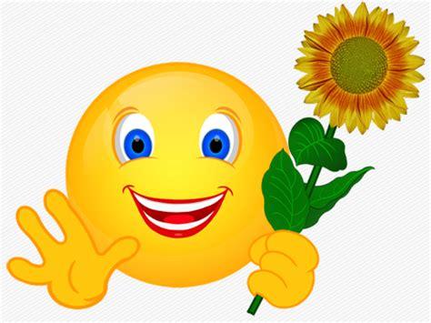 Smiley  Blumen « Cliparts