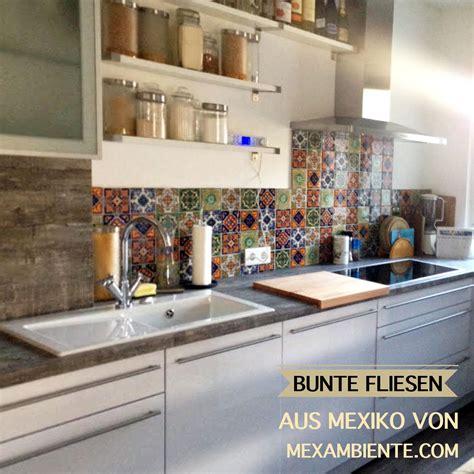 Fliesenspiegel Küche Mediterran by Bunte Fliesen F 252 R Die K 252 Che Mexikanische Fliesen Mit