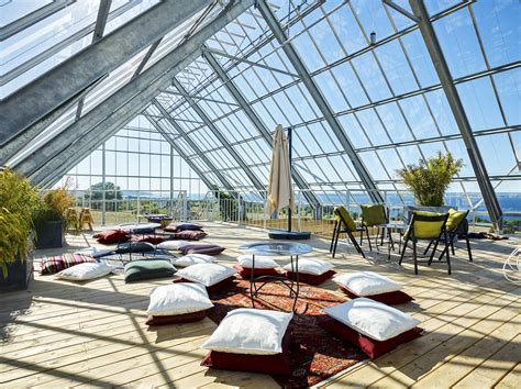 swedens house   greenhouse grows food sustainably