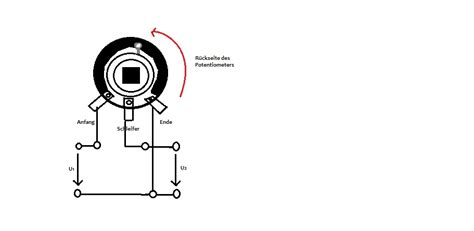 potentiometer berechnen elektronik kurs potentiometer und