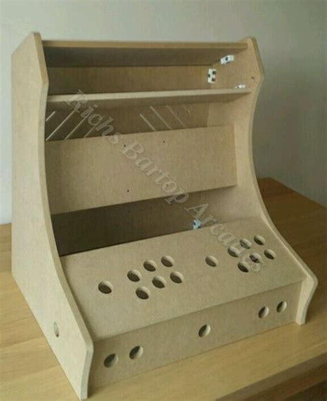 bartop arcade machine 2 player diy flat pack kit 12mm mdf flats arcade machine and