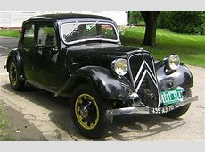 1936 Citroen Traction Avant 7C Vermont Auto Enthusiasts
