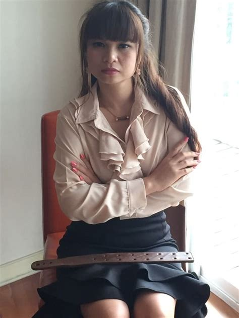 Strict Women Struthers Trap Is A Real Genuine Tawse Found The School Belt Pinterest
