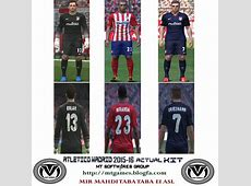 PES 2015 Atlético Madrid 201516 New Update by MT Games