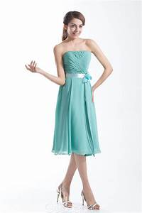 aqua blue strapless bridesmaid dressCherry Marry | Cherry ...