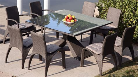 table chaise exterieur table jardin avec chaise