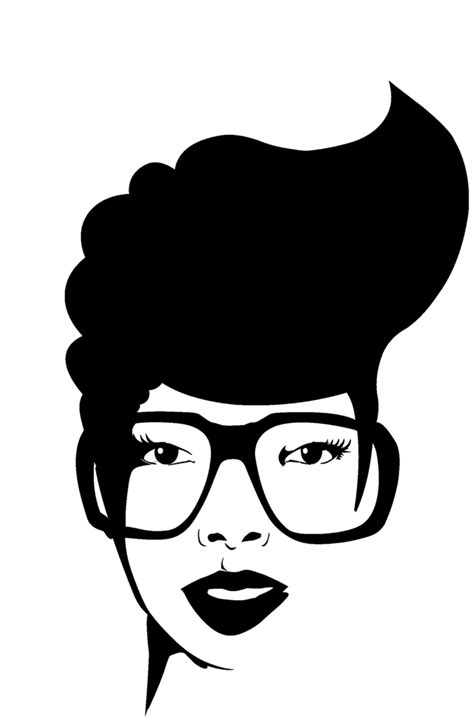 Svg and dxf digital file afro woman svg, strong woman svg for use with cricut and silhouette systems. Afro-textured hair Black African American - Afro Puffs png ...