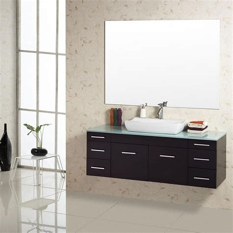 Single Sink Bathroom Vanity Set by Single Sink Bathroom Vanity Set With Gorgeous Glass