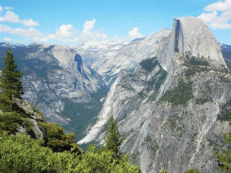 Yosemite Stand sights near glacier point in yosemite moon travel guides