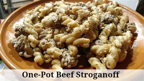 one pot beef stroganoff recipe from val s kitchen