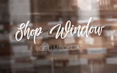 Free for personal and commercial use zip file includes: 20 Premium and Free Glass Window Logo PSD MockUps - Counrty4k