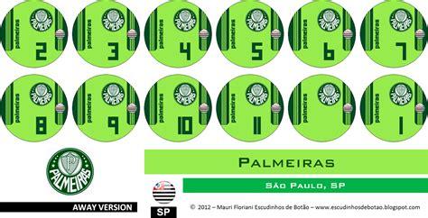 Mauri Floriani´s Escudinhos de Botão: Palmeiras 2012 ...