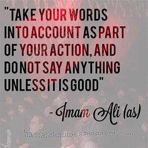 40+ Inspirational Hazrat Ali Sayings and Islamic Quotes in ...