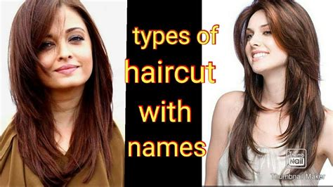 types of Haircut for girls with names💇💇💇💇 YouTube