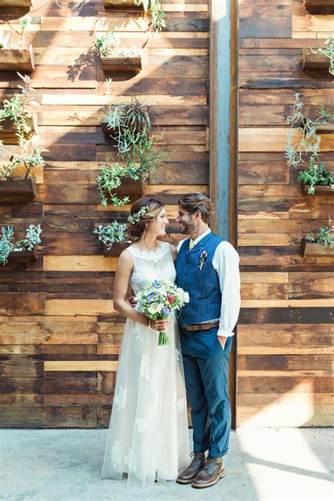 rustic new york garden wedding