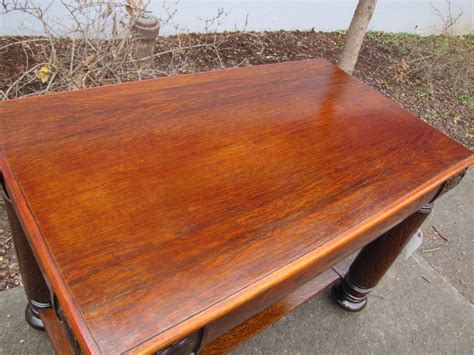 Superb Antique Larkin Buffalo Ny Oak Table W230