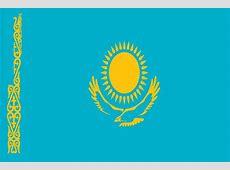 Kazakhstan Flag National · Free vector graphic on Pixabay