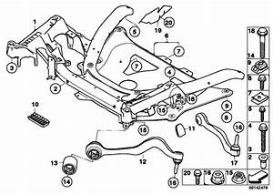 Original Parts For E60 M5 S85 Sedan    Front Axle   Frnt